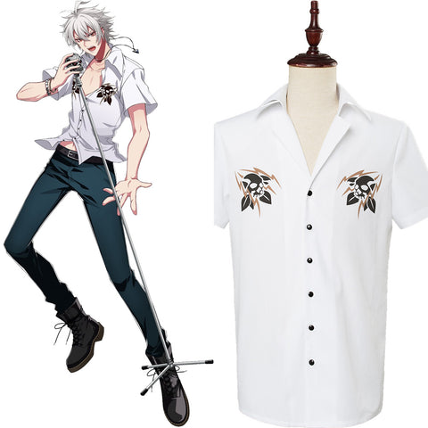 DRB Division Rap Battle SAMATOKI AOHITSUGI Shirt Cosplay Costume