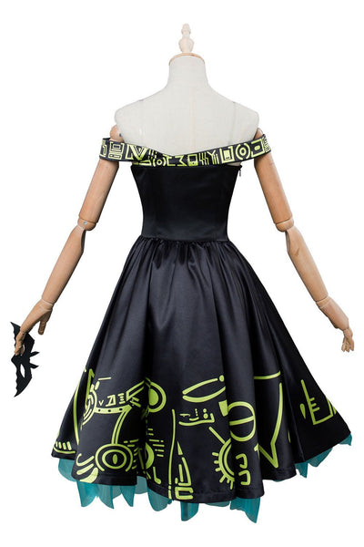 Persona 5 P5 Futaba Sakura Masquerade Party Cosplay Costume