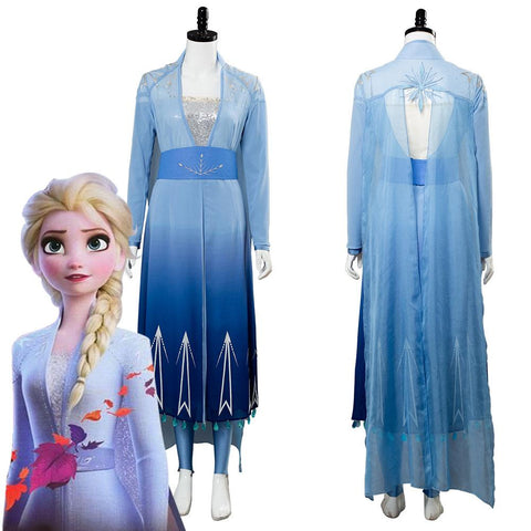 Disney Frozen 2 Princess Elsa Cosplay Costume