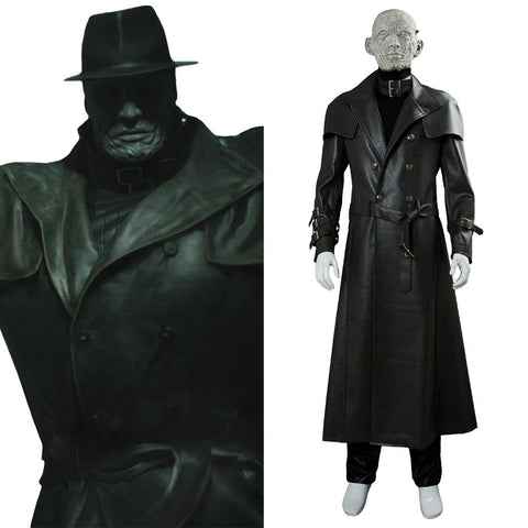 Resident Evil 2 Remake Tyrant Mr. X Outfit Cosplay Costume