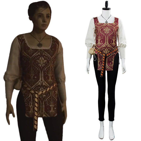 A Plague Tale:Innocenc Amicia Cosplay Costume
