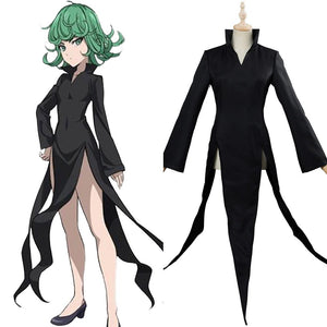 Anime ONE PUNCH MAN Tatsumaki Cosplay Costume
