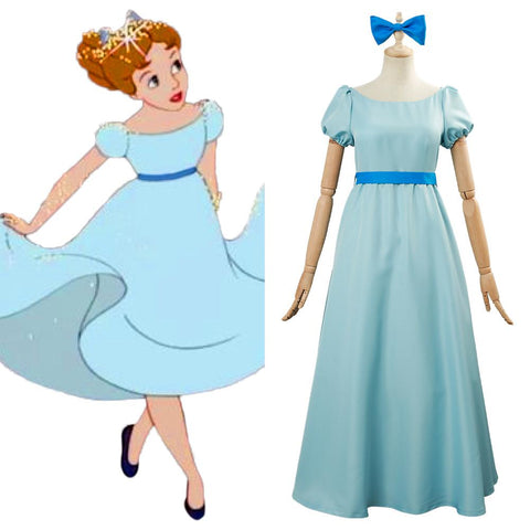 Peter Pan Wendy Darling Cosplay Costume For Adult