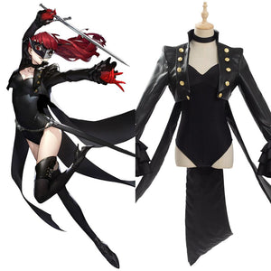 Persona 5 The Royal Yoshizawa Kasumi Phantom Thief Cosplay Costume