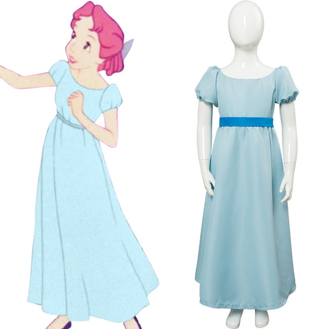 Disney Peter Pan Wendy Darling Cosplay Costume For Child