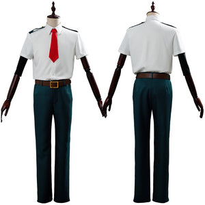 Midoriya Izuku My/Boku no Hero Academia Cosplay Costume Outfit Dress Suit Uniform