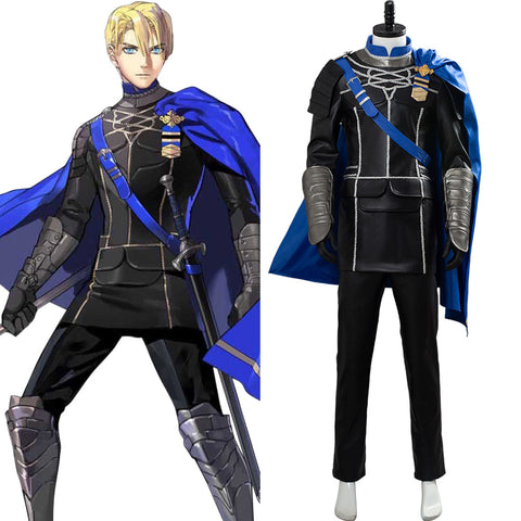 Fire Emblem: ThreeHouses Dimitri Alexandre Bladud Cosplay Costume Outfit Dress Suit Uniform