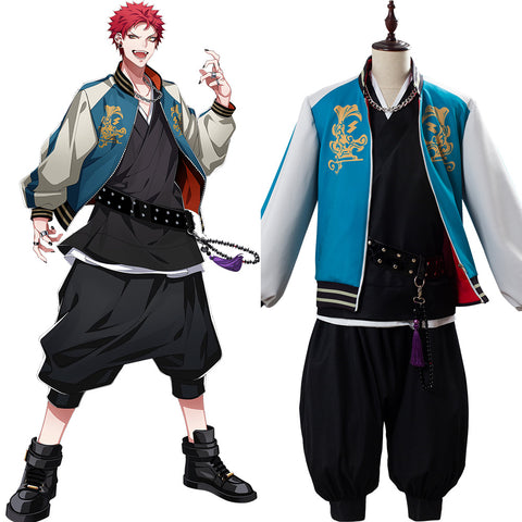 Division Rap Battle DRB Hypnosis Mic Kuko Harai Evil Monk Suit Cosplay Costume