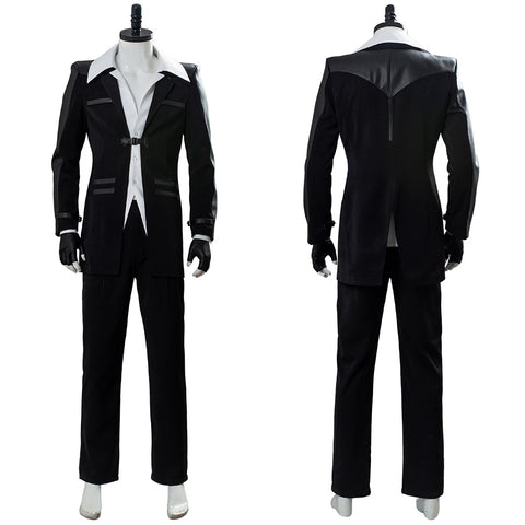 Reno Final Fantasy 7 Remake Suit Cosplay Costume