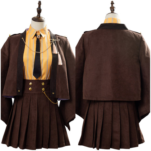 Fate Grand Order Okita Souji Dress Cosplay Costume