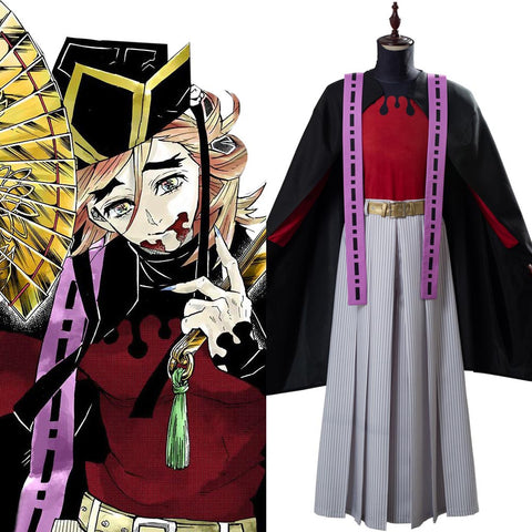Upper Moon two Douma Demon Slayer: Kimetsu no Yaiba Doma Outfit Cosplay Costume