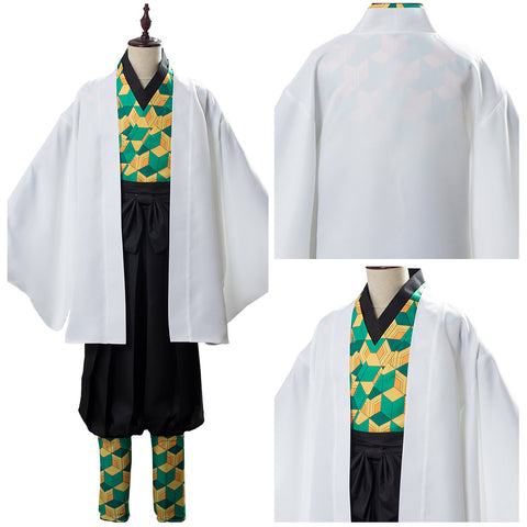 Demon Slayer: Kimetsu no Yaiba Sabito Uniform Cosplay Costume