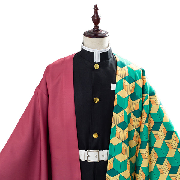 Tomioka Giyuu Demon Slayer: Kimetsu no Yaiba Uniform Cosplay Costume