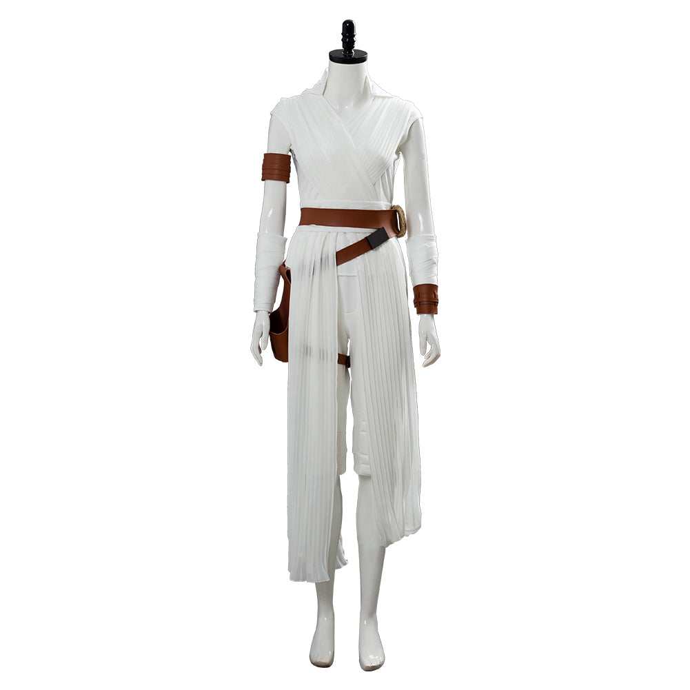 The Rise of Skywalker Rey Cosplay Costume Kids Children Outfit Details about  /Star Wars