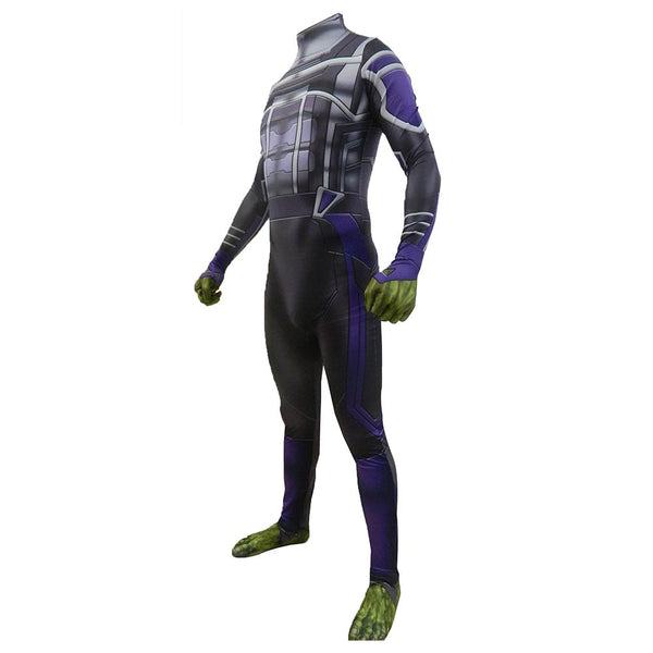 Avengers 4 Endgame Hulk Jumpsuit Cosplay Costume Adult