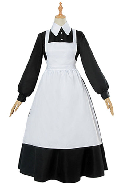 Anime The Promised Neverland Isabella Maid Cosplay Costume