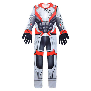 Avengers 4 :End Game Quantum Realm Suits  Printed Jumpsuit For Child