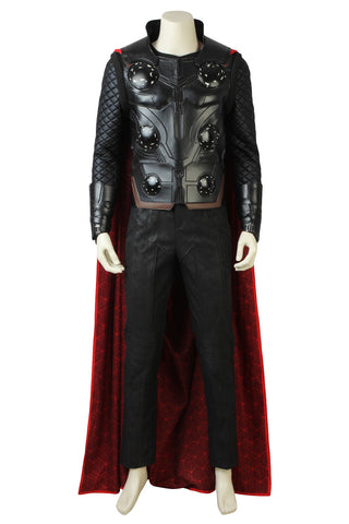 Marvel Avengers 3 : Infinity War Thor Outfit suit Halloween cosplay costume set