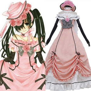 Black Butler Ciel Phantomhive Dress Cosplay Costume
