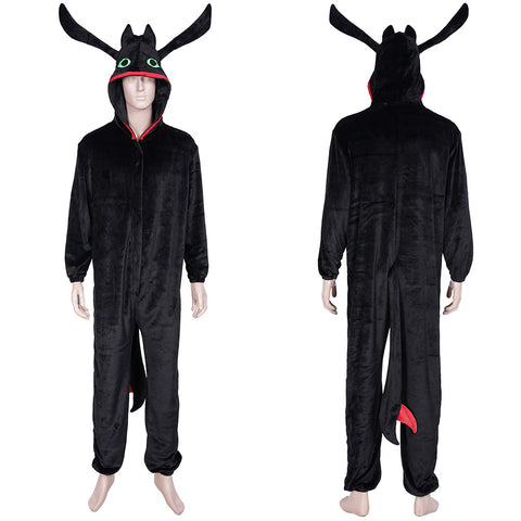 How to train your Dragon·Night Fury Sleepwear Pajams Cosplay Costume