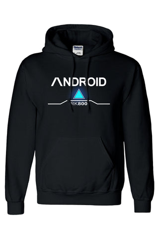 Detroit: Become Human Pullover Hoodie Connor RK800 Hoodie Unisex Sweatershirt