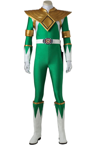 Mighty Morphin Power Rangers Tommy Oliver Green Ranger Cosplay Costume