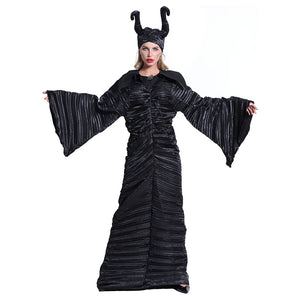 Maleficent Cosplay Costume Halloween