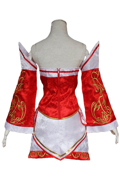 LOL League of legends Ahri The Nine-Tailed Fox Classic Outfit Cosplay Costume