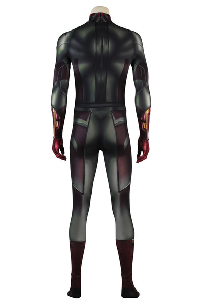 Avengers Infinity War Vision Outfit Superhero Halloween Cosplay Costume