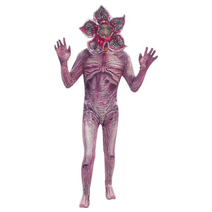 Stranger Things Season 3 Demogorgon Cosplay Costume Halloween Horror Outfit Kids
