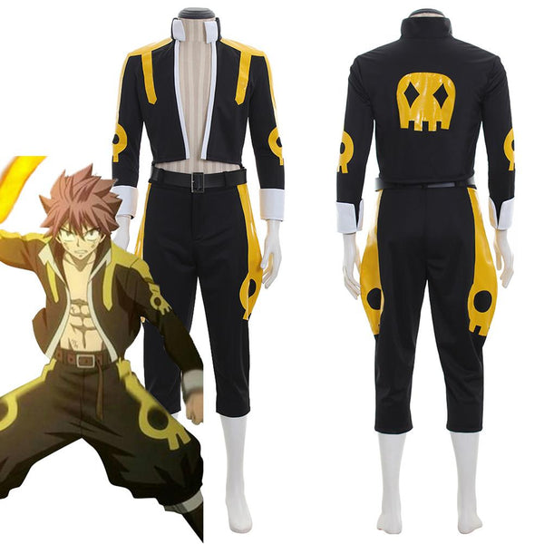Fairy Tail Etherious Natsu Dragneel Cosplay Costume