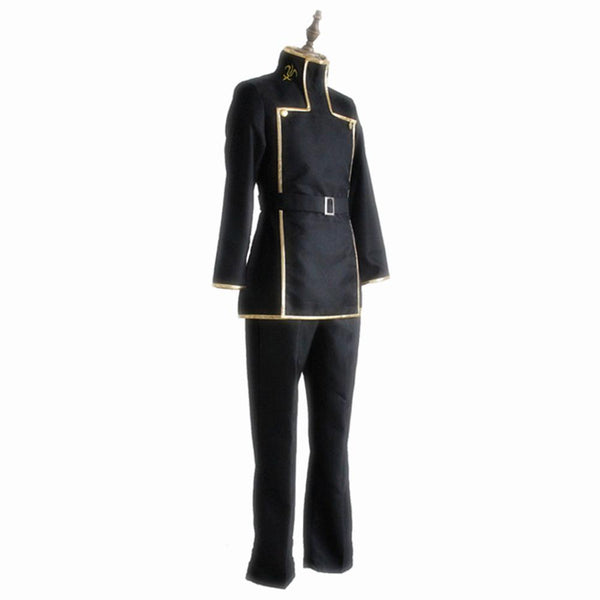 CODE GEASS Lelouch Lamperouge Cosplay Costumes Japanese Anime School Uniform For Boys