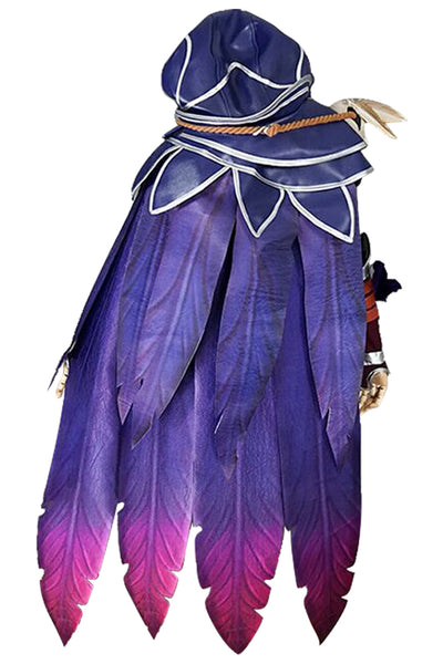 LOL League of Legends Xayah Outfit Cosplay Costume