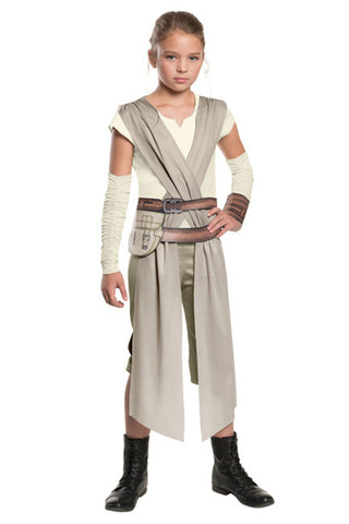 Toddler Star Wars Rey Costume Outfit For Kids Children