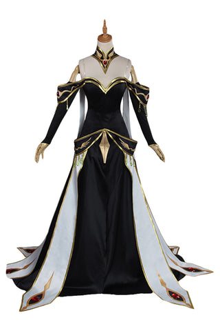 CODE GEASS Lelouch of the Rebellion C.C. Outfit Cosplay Costume
