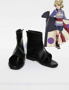 Anime Naruto Nara Temari cosplay shoes boots