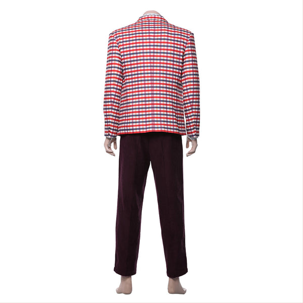 Movie Joker  Joaquin Phoenix Arthur Fleck Jacket Cosplay Costume