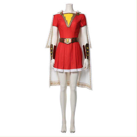 Movie Shazam! Shazam Family Mary Marvel Batson Cosplay Costume