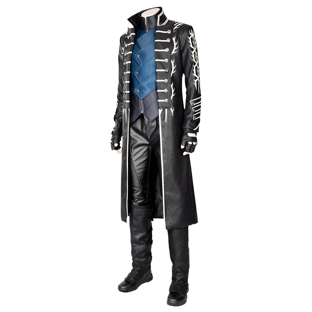Devil May Cry 5 Vergil Outfit Cosplay Costume - New Cosplaysky