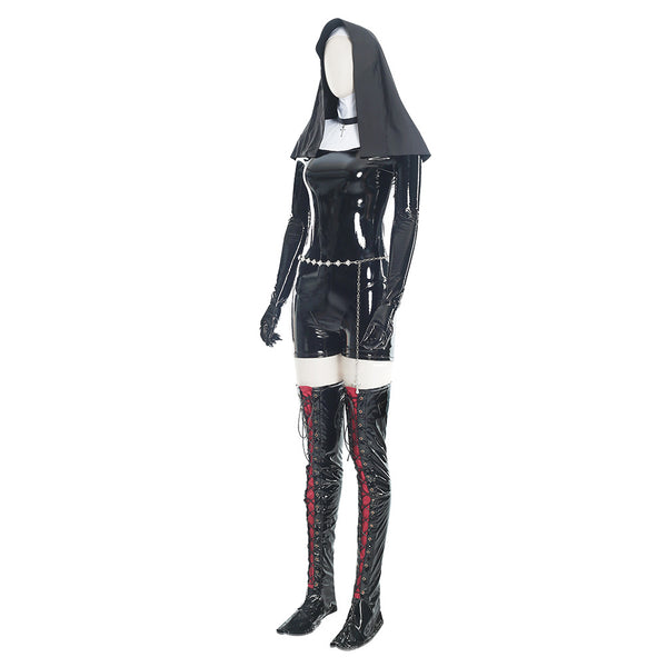 Nun Hitman 5: Absolution Sister Rosewood Orphanage Uniform Cosplay Costume