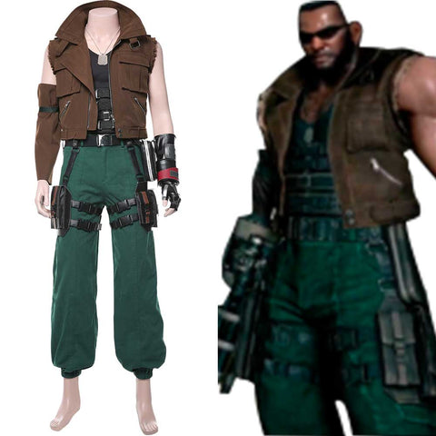 Final Fantasy VII Remake Barret Wallace Cosplay Costume