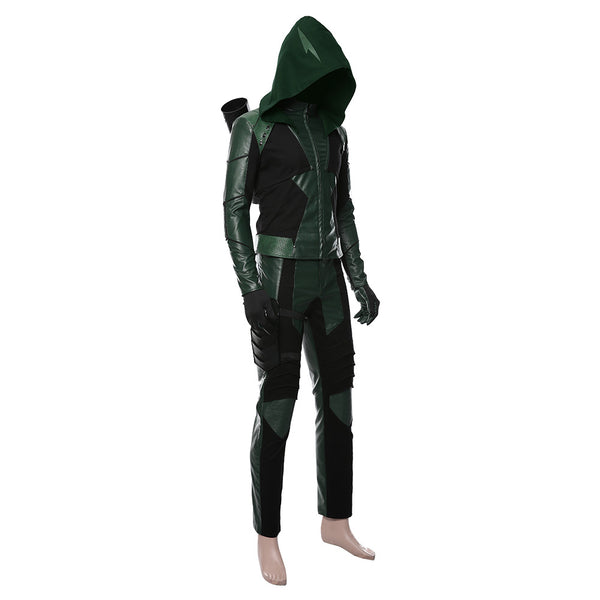 Green Arrow Season 8 Oliver Queen Outfit Cosplay Costume