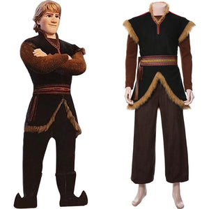 Frozen 2 Prince Kristoff Outfit Cosplay Costume