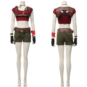 Jumanji The Next Level Ruby Roundhouse Outfit Cosplay Costume