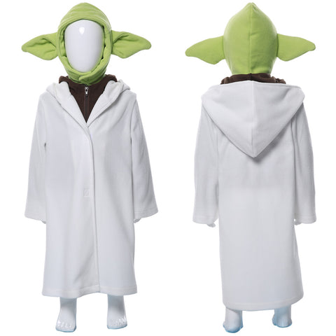 The Mandalorian Yoda Baby Kid's Suit Cosplay Costume
