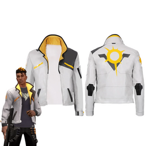 Game Valorant-Phoenix Men Jacket Coat Only Cosplay Costume