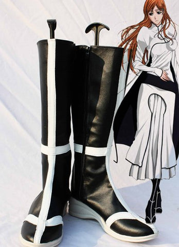 BLEACH INOUE ORIHIME Cosplay Boots Shoes
