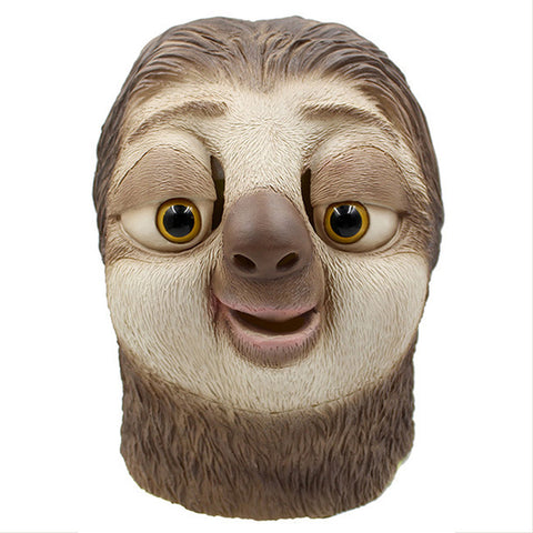 Zootopia Sloth Latex Mask Props