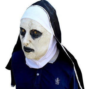 The Conjuring 2 The Nun Halloween Horror Helmet Cosplay Accessories