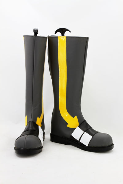 Kagerou Project Konoha Haruka Kokonose Cosplay Boots Shoes Grey